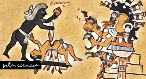 Los aztecas y los rituales sangrientos en los que ...