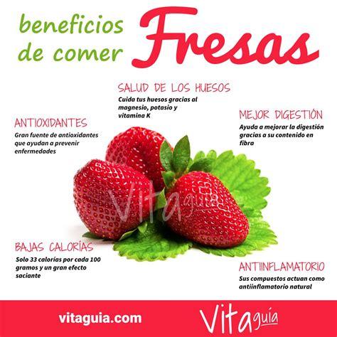 Los beneficios de las fresas y sus propiedades para la # ...