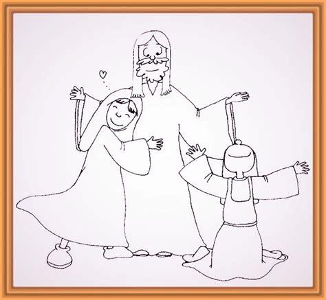 Los bonitos Dibujo de Cristo para Colorear   Fotos de Dios