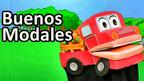 Los Buenos Modales   Barney El Camion   Canciones ...