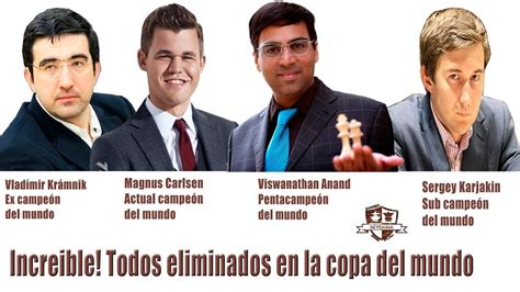 Los campeones del mundo y el Sub Campeón ELIMINADOS en la ...