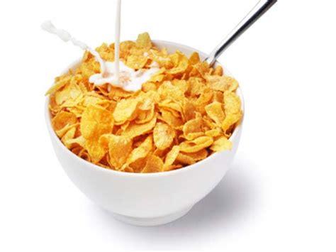Los cereales del desayuno