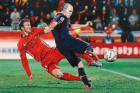 Los cinco mejores goles de España a golpe de pincel ...