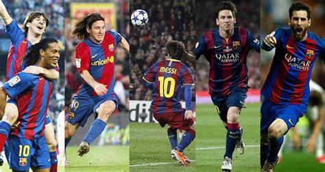 Los cinco mejores goles de Messi con el Barcelona