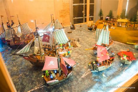Los Clicks de Playmobil conquistan los museos de Cartagena