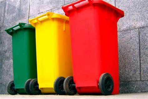 Los colores en el reciclaje: qué residuos van en cada ...