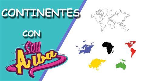 Los continentes   Geografía para niños de primaria   YouTube