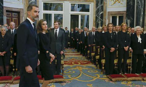 Los cuatro Reyes asisten al funeral de Alicia de Borbón ...