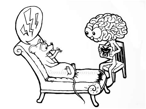 Los dibujos de Meli: Dibujo de Psicología