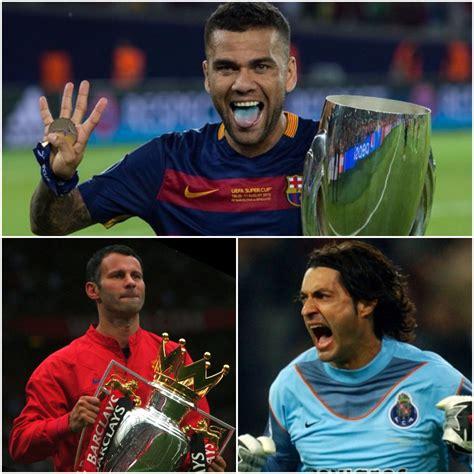 Los diez futbolistas con más títulos   BeSoccer