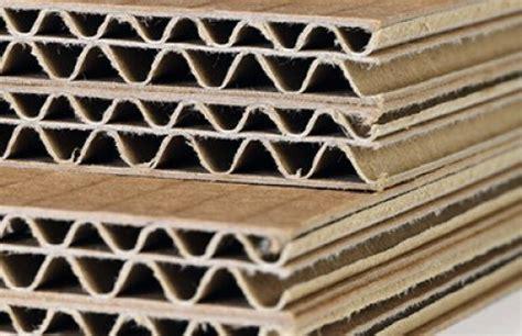 Los diferentes tipos de cartón ondulado - Cuaderno, el ...