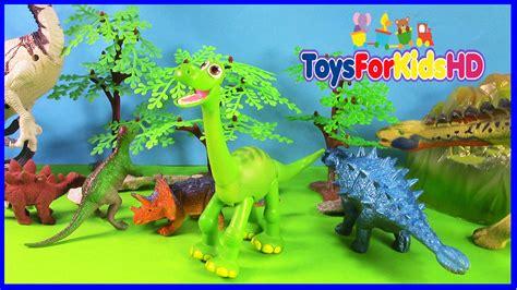 Los Dinosaurios para niños Apatosaurus - Videos de ...