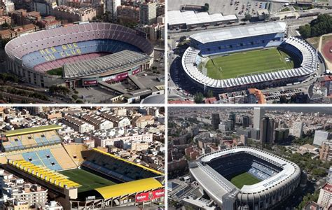 Los estadios de Primera, a vista de pájaro - Foto 1 de 21 ...