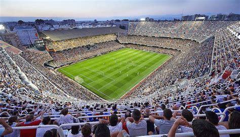 Los estadios más grandes de España, el top 10