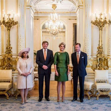 Los Grandes Duques de Luxemburgo reciben a los Reyes de ...