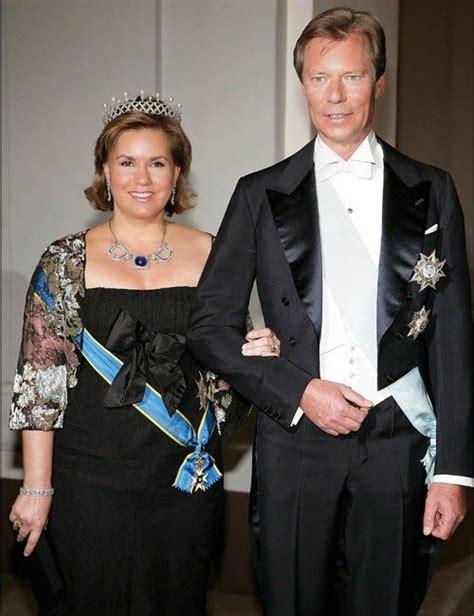 Los Grandes Duques Enrique y María Teresa de Luxemburgo ...