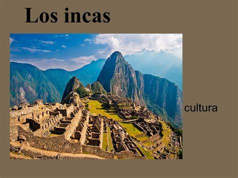 Los incas cultura.   ppt video online descargar