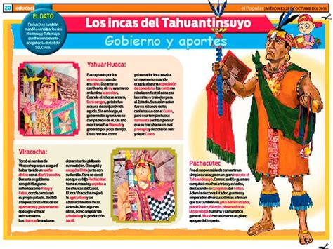 Los Incas del Tahuantinsuyo: gobierno y aportes | ElPopular.pe