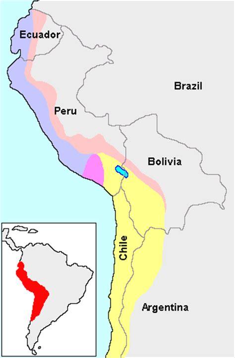 los Incas » Mapas
