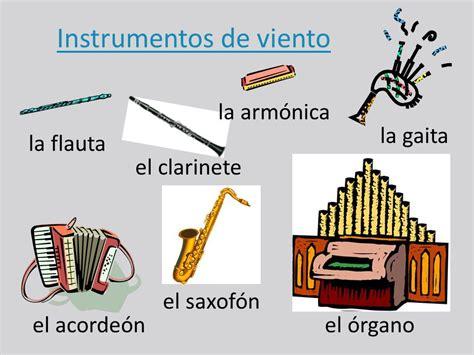 Los instrumentos - de metal - de viento - de percusión ...