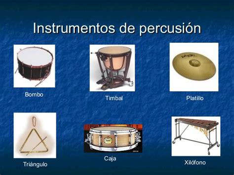 Los instrumentos musicales de la orquesta