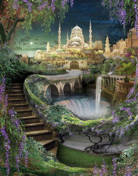 Los jardines colgantes de Babilonia   Taringa!