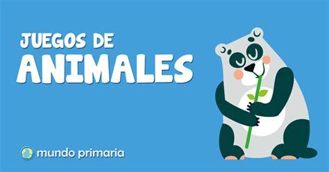 Los juegos de animales más divertidos para niños de Primaria