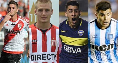 Los jugadores más caros del fútbol argentino en 2017 ...