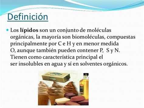 Los lípidos-Biología