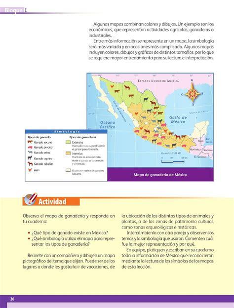 Los mapas hablan de México - Bloque I - Lección 3 ~ Apoyo ...
