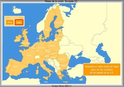 Los Mapas Interactivos de Estados de la Unión Europea de ...