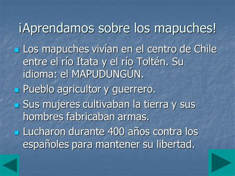 LOS MAPUCHES GENTE DE LA TIERRA. - ppt video online descargar