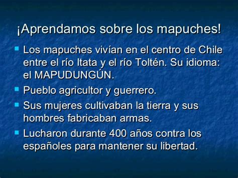 Los mapuches
