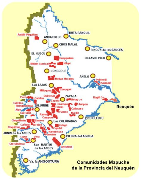 Los mapuches: