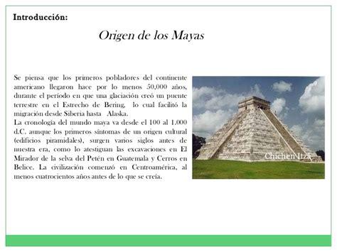 Los mayas 2011 historia