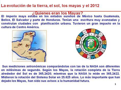 Los mayas y el 21 de diciembre   Info   Taringa!