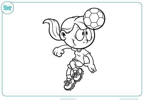 Los mejores dibujos de fútbol para colorear e imprimir
