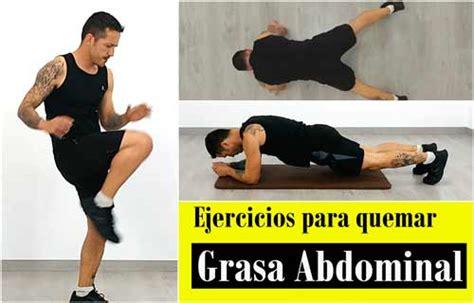Los mejores ejercicios para quemar grasa abdominal en casa ...
