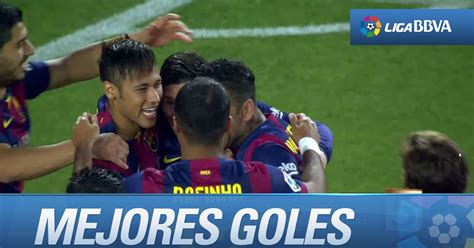 Los mejores goles del FC Barcelona en la Liga BBVA 2014 ...