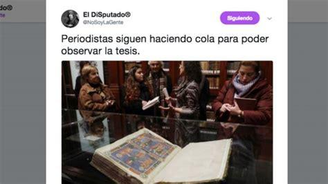 Los mejores memes sobre la tesis de Pedro Sánchez