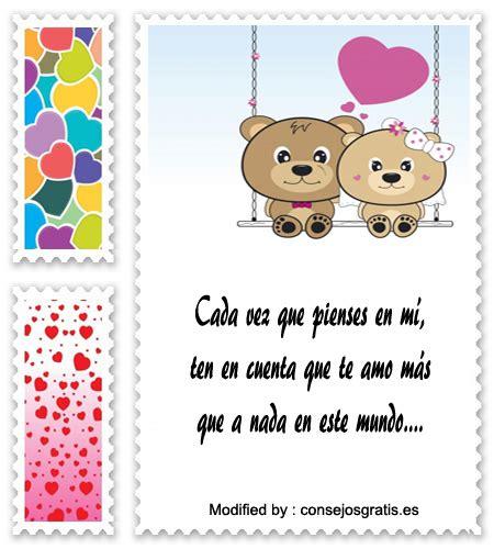 Los Mejores Mensajes De Amor Para Mi Novia | Frases de ...