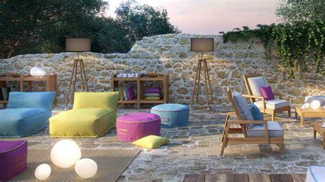 Los mejores muebles de exterior para una zona chill out