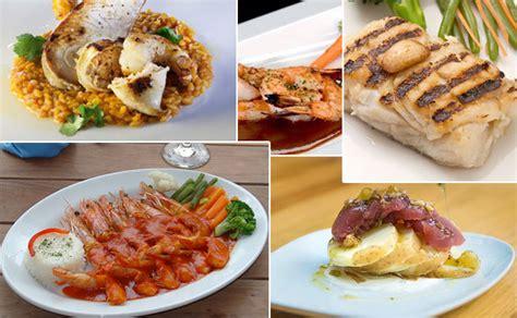 Los mejores platillos con pescados y mariscos