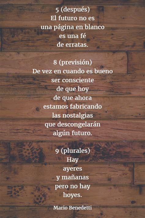 Los mejores poemas de MARIO BENEDETTI 【Versos】