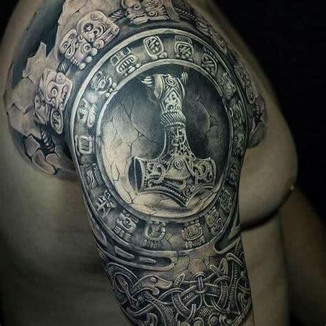 Los Mejores Tatuajes aztecas y mayas con significado ...