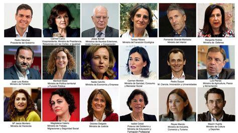 Los ministros de Pedro Sánchez: los nuevos hombres y ...