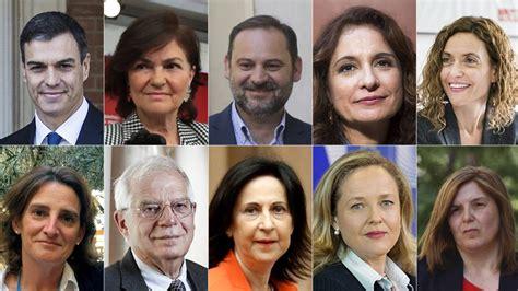 Los ministros del Gobierno de Pedro Sánchez | España | EL PAÍS
