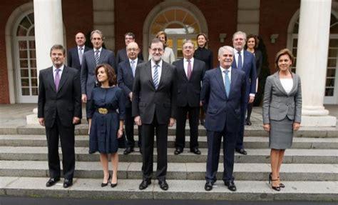 Los ministros del nuevo Gobierno de Rajoy juran sus cargos ...