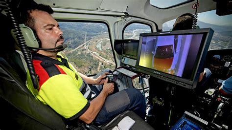 Los Mossos intensifican el control aéreo del tráfico