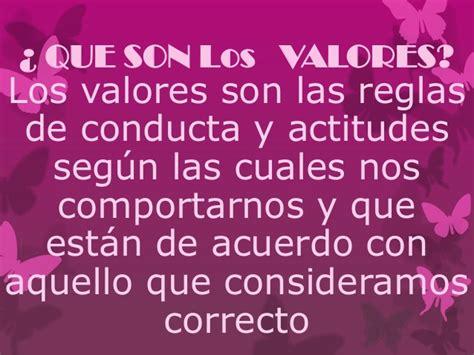 Los niños y los valores exposicion